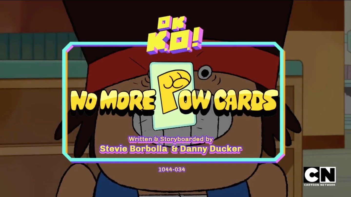 OK K.O.! Let's Be Heroes – T1E29 – No More Pow Cards [Sub. Español]