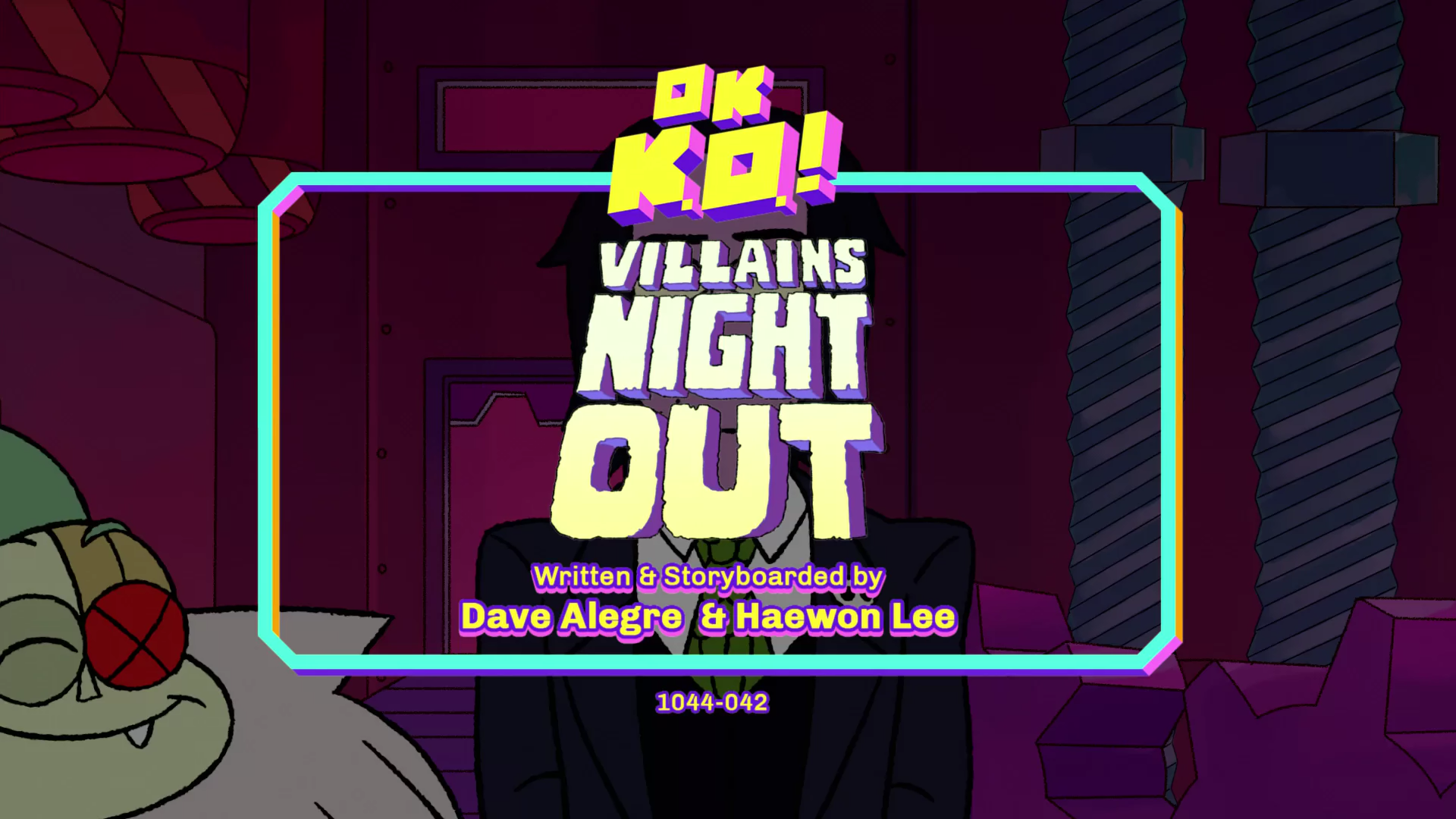 OK K.O.! Let's Be Heroes – T1E41 – Villains' Night Out [Sub. Español]